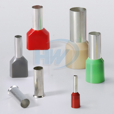 Un-insulated cord-end terminals, cord end terminals, twin cord-end terminals