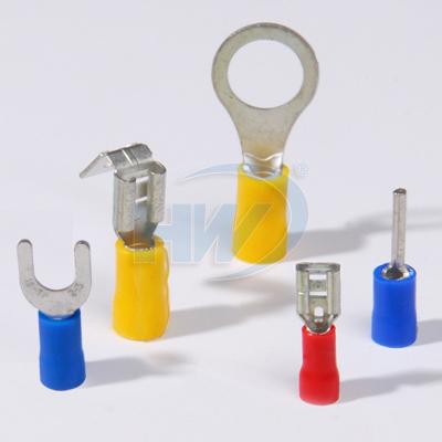 冷压端子、中接管、压接端子、PVC绝缘端子