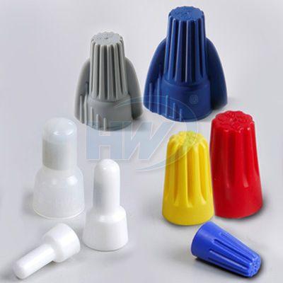 旋轉端子、彈簧螺式接頭 (壓線帽、接線帽、護線帽)、彈簧螺式端子、雙翼旋轉端子、接地型雙翼旋轉端、耐熱型彈簧螺式接頭、閉端端子)