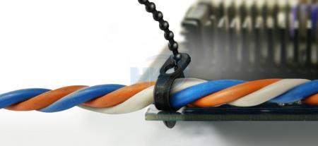 Fascette per cavi, perline, poliammide, 93 mm, 2,4 mm