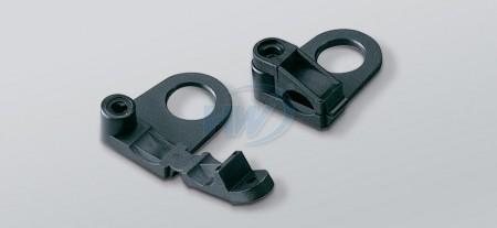 电缆螺丝夹,PA66,长度44.5mm, 宽度28.7mm - 电源线扣