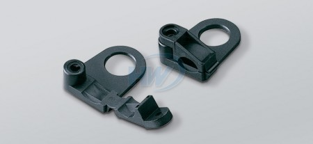 Cable Clamps,Polyamide, 44.5mm Length, 28.7mm Width
