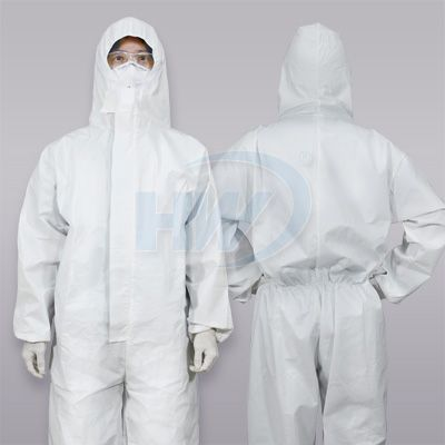 Disposable Protective Coverall with Hood - Disposable Protective Coverall with Hood