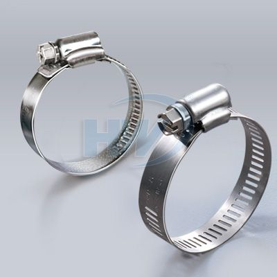 Colliers de serrage en acier inoxydable
