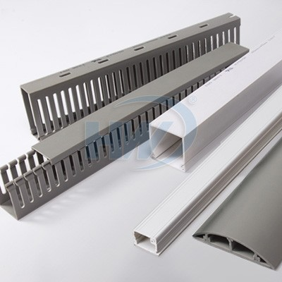 Wire Ducts - Slotted/solid wiring ducts, Round type wiring ducts, telephone wiring ducts