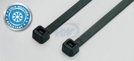 80x2.4mm (3.2x0.09 inch), Cable Ties, PA66, Cold Weather Resistant
