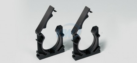 """Conduit Mounting Brackets, Capped Type,Polyamide, Nominal Dimension 1/4"""", Suitable Conduit NFC-07"""