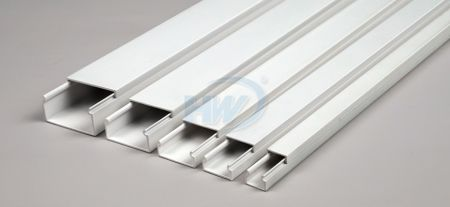 Decoration Wiring Ducts,PVC,12x11mm - Decoration Wiring Ducts
