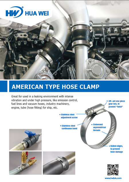 American Type Hose Clamps Flyer