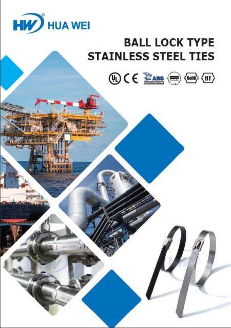 Ball Lock Type Satinless Steel Ties Flyer