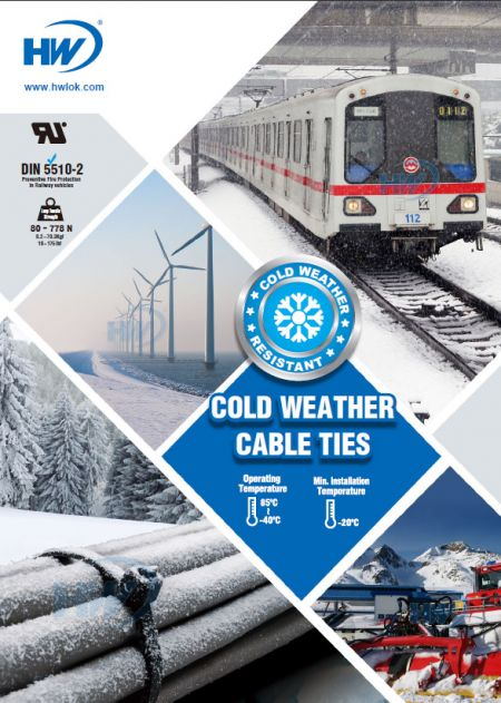 Cold Weather Cable Ties Flyer
