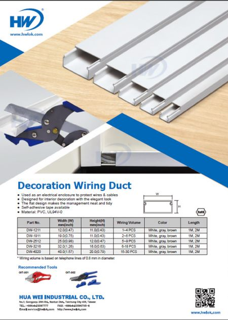 Decoration Wiring Duct Flyer