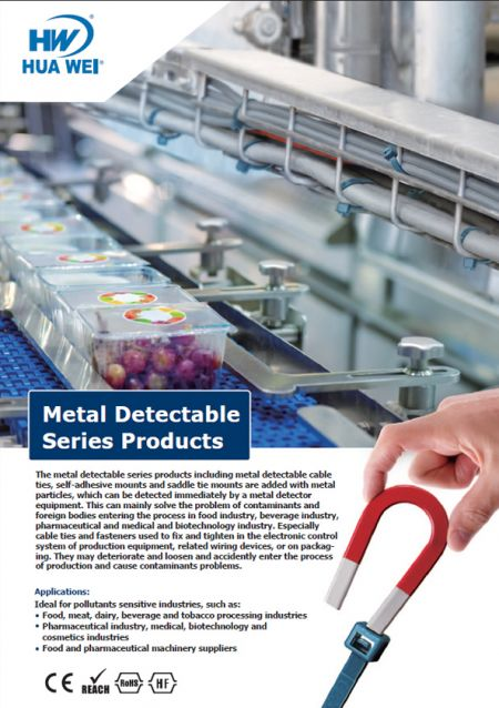 Metal Detectable Cable Ties Flyer