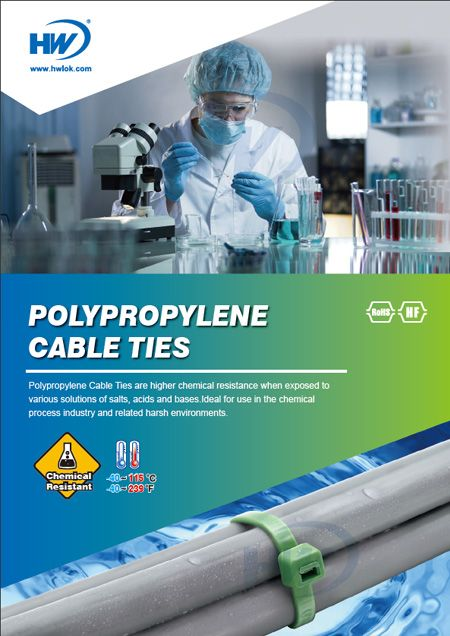 Polypropylene Cable Ties Flyer