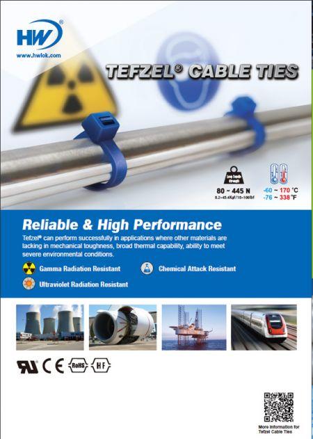 Tefzel Cable Ties Flyer
