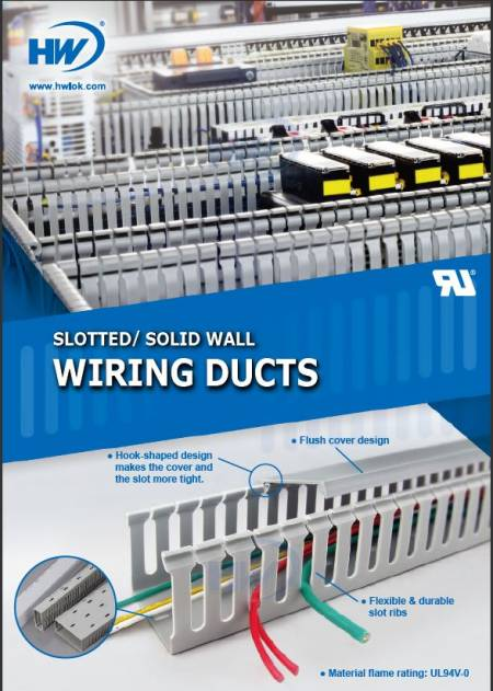 Slotted/ Solid Wall Wiring Ducts (GW Type) Flyer
