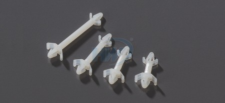 PCB Supports,Dual Locking,Polyamide, 4.6mm Spacing Height