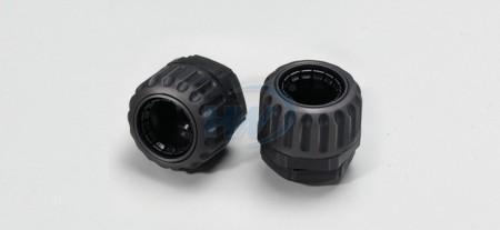 """Adattatori per conduit, cinque pezzi, poliammide, filettatura (PF) 1/4 """", conduit adatta NFC-07"""