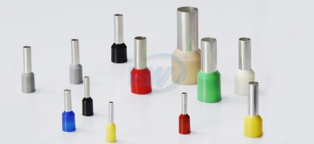 Puntali per cavi isolati, rame / PA66, conduttore 4AWG, lunghezza 16 mm, sistema W. - Puntali isolati per estremità del cavo