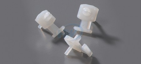 Cable Tie Mounts, Knock-In Low Profile, Polyamide, 4.8mm Max. tie width,3.6mm Mounting Hole - Low Profile Cable Tie Mounts