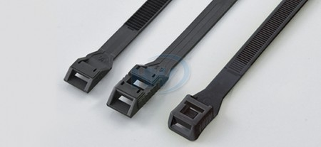 ケーブルタイ、ロープロファイル、PA12、180mm、8.6mm - 結束バンド(インラインタイ)