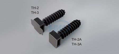 Cable Tie Mounts,Masonry Type, Polyamide,9mm Max. tie width,40.5mm Length