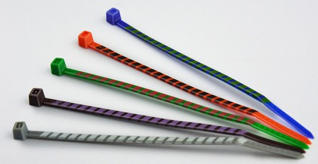 Stripped cable ties - Stripped cable ties