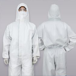 [ New Product ] Disposable Protective Coverall with Hood - Disposable Protective Coverall with Hood