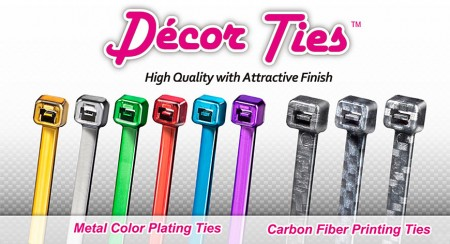 Decor cable ties - Decor cable ties