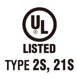 UL Type 2S & 21S Certification [update] - UL Type 2S & 21S Certification
