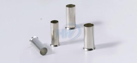 Non-Insulated Cord-End Ferrules,Copper,Conductor 22-20AWG,Length 6mm - Non-Insulated Cord-End Ferrules