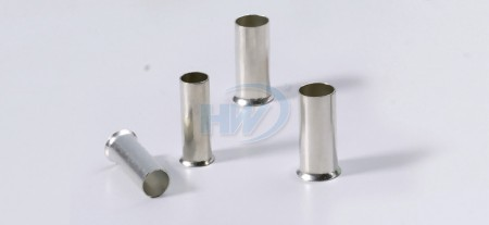 Non-Insulated Cord-End Ferrules,Copper,Conductor 22-20AWG,Length 6mm - Non-Insulated Cord-End Ferrules