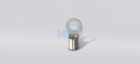 Non-Insulated Ring Terminals ,Copper,Wire Range 16-14 AWG,Stud Size M6 - Non-Insulated Ring Terminals