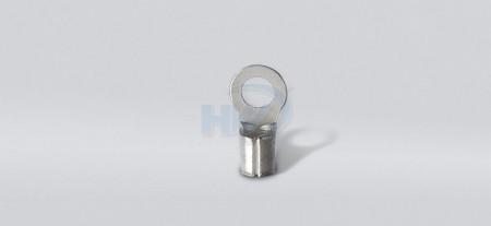 """圆形裸端(焊接),适用线径0.5-1.5sq. mm.(22-16AWG),适用螺丝尺寸M3(#5"""") - 圆形裸端(焊接)"""