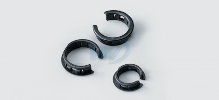 Open Bushings,Polyamide, Inner Hole On Pannel ø12.7 mm - Open Bushings