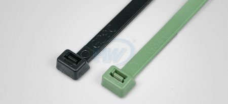 100x2.5mm (3.9x0.10 inch), Cable Ties, PP, Chemical Resistant