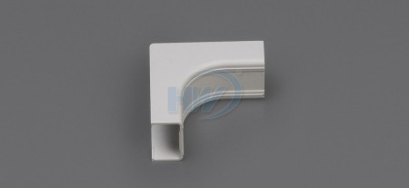 Raceway Fittings - Inside Corner Cover, For GU-4525,45x25mm,One Piece Raceway