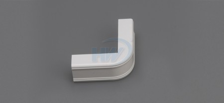 Raceway Fittings-Outside Corner Cover,For GU-3520,35x20mm,One Piece Raceway