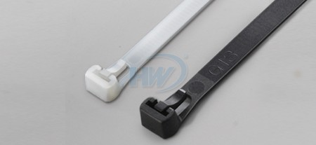 100x7.6mm (3.9x0.30 inch), Cable Ties, PA66, Releasable - Releasable Cable Ties