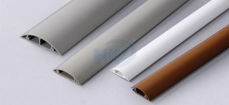 Round Type Wire Ducts,PVC,39x10mm - Round Type Wire Ducts