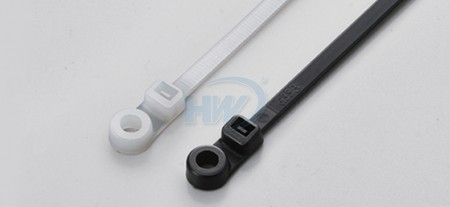 Fascette per cavi, montaggio a vite, poliammide, 110 mm, 2,5 mm - Fascette per cavi con montaggio a vite