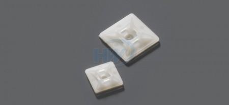 Soportes para bridas, autoadhesivos, poliamida, 3,2 mm máx. ancho de la corbata - Soportes autoadhesivos para bridas de cables