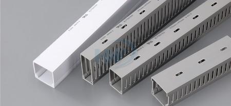 Bedradingskanalen (massief), PVC, 15x25 mm, bedradingsvolume 5-12 PCS - Massieve en gesleufde draadkanalen - GW