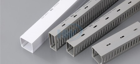 Wiring Ducts(Solid),PVC,25x25mm,Wiring Volume 10-25 PCS - Solid and Slotted Wire Ducts - GW