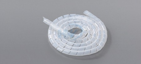 Spiral Wrapping Bands - PE, 5mm  In-Diameter, 4.0~50.0 mm Wrapping Range.