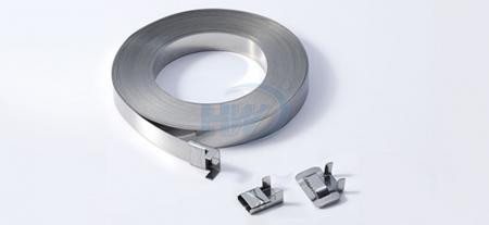 Cinturini in acciaio inossidabile, SS304 / SS316, lunghezza 30M, larghezza 9,5 mm, spessore 0,58 mm - Cinturini in acciaio inossidabile