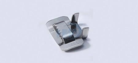 """齿式不锈钢扣, SS304 / SS316 ,最大允许带宽0.4""""(9.5mm) - 不锈钢钢扣"""