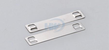 Placas de marcador de acero inoxidable, SS304 / SS316,89 mm x 19 mm - Placas de marcador de acero inoxidable