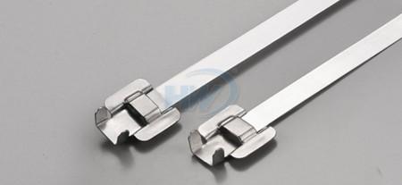"""標準型可退式不鏽鋼帶, SS304 / SS316 ,長度(L)5.9""""(150mm),環拉值75lbf - 可退式不鏽鋼束帶"""