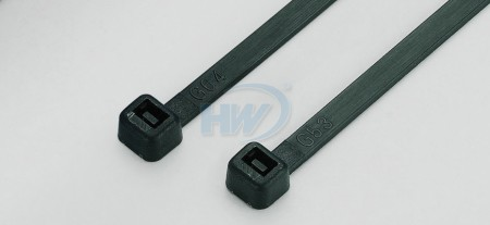 80x2.4mm (3.2x0.09 inch), Cable Ties, PA66, Flame-Retardant - Standard Cable Ties - Flame Retardant